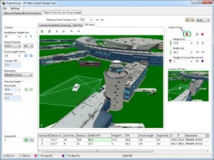 Cctv Design Tool For 3d Cad Design Of Your Site