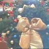 Christmas Tree in surveillance camera view